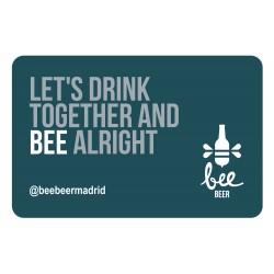 Tarjeta Regalo Bee Let's...