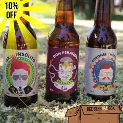 Bee Beer Hoppy Box x 24